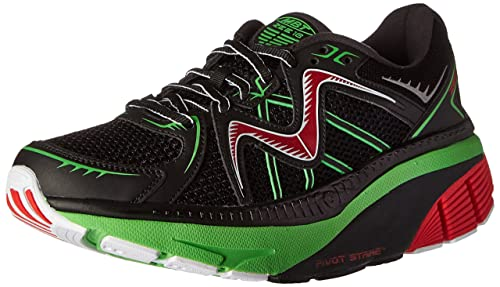 a316bb70f378 MBT Men s Zee 16 Running Shoe Black  Amazon.co.uk  Shoes   Bags