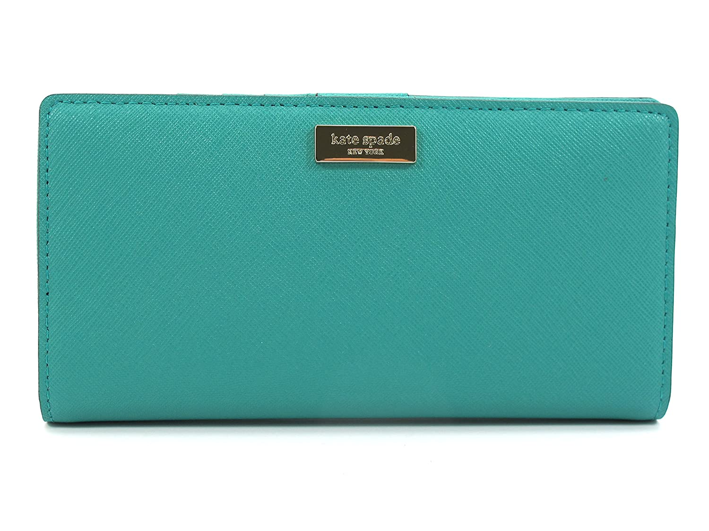 Kate Spade Skinny Wallet Stacy Newbury Lane WLRU1601 Dusty Emeral (Green)