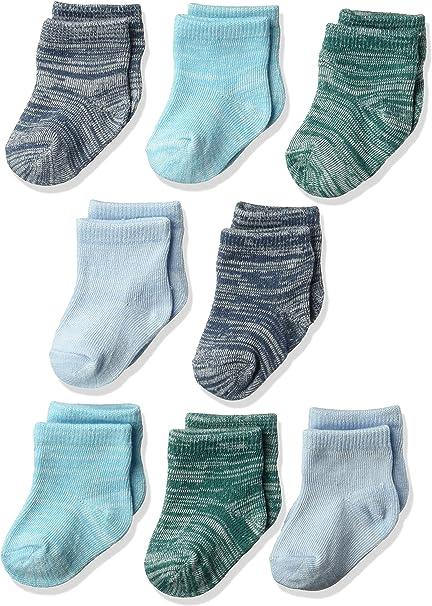 Hanes Ultimate Baby Flexy Ankle Length Socks 8-Pack