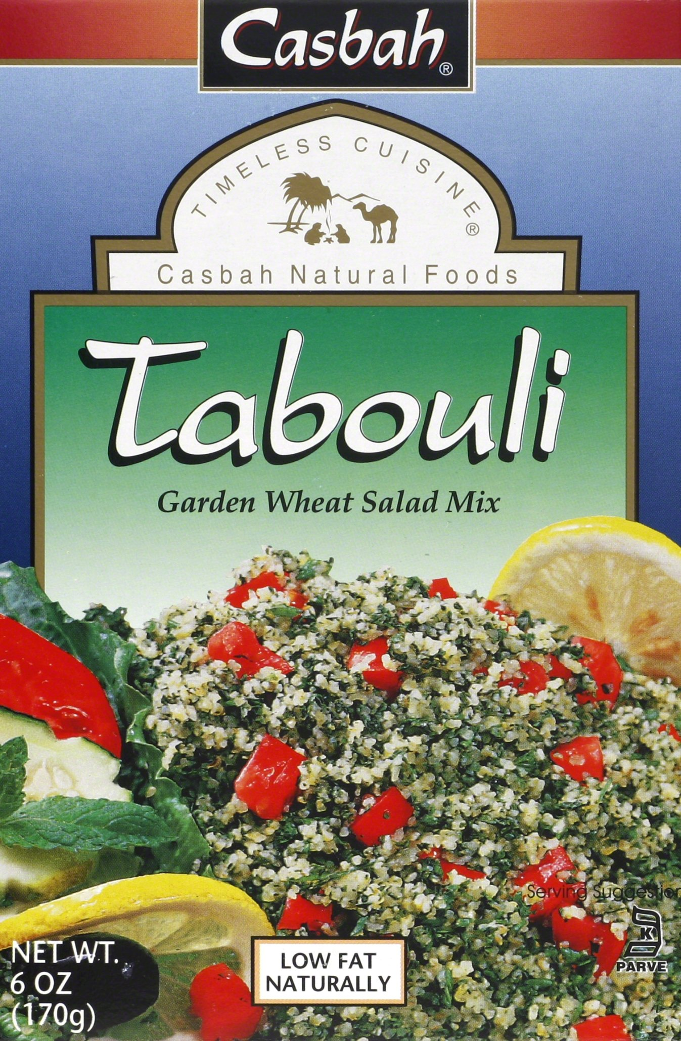 Casbah Tabouli Mix, 6 Ounce (Pack of 12)