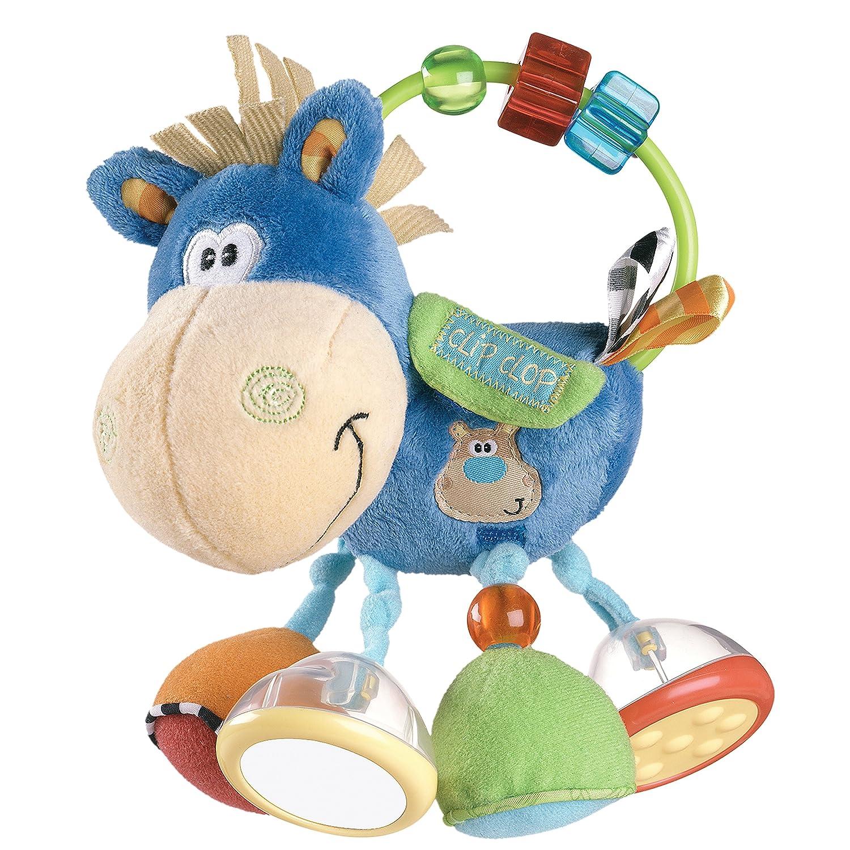 Playgro 0101145 Mordedor forma de vaca Clip Clop
