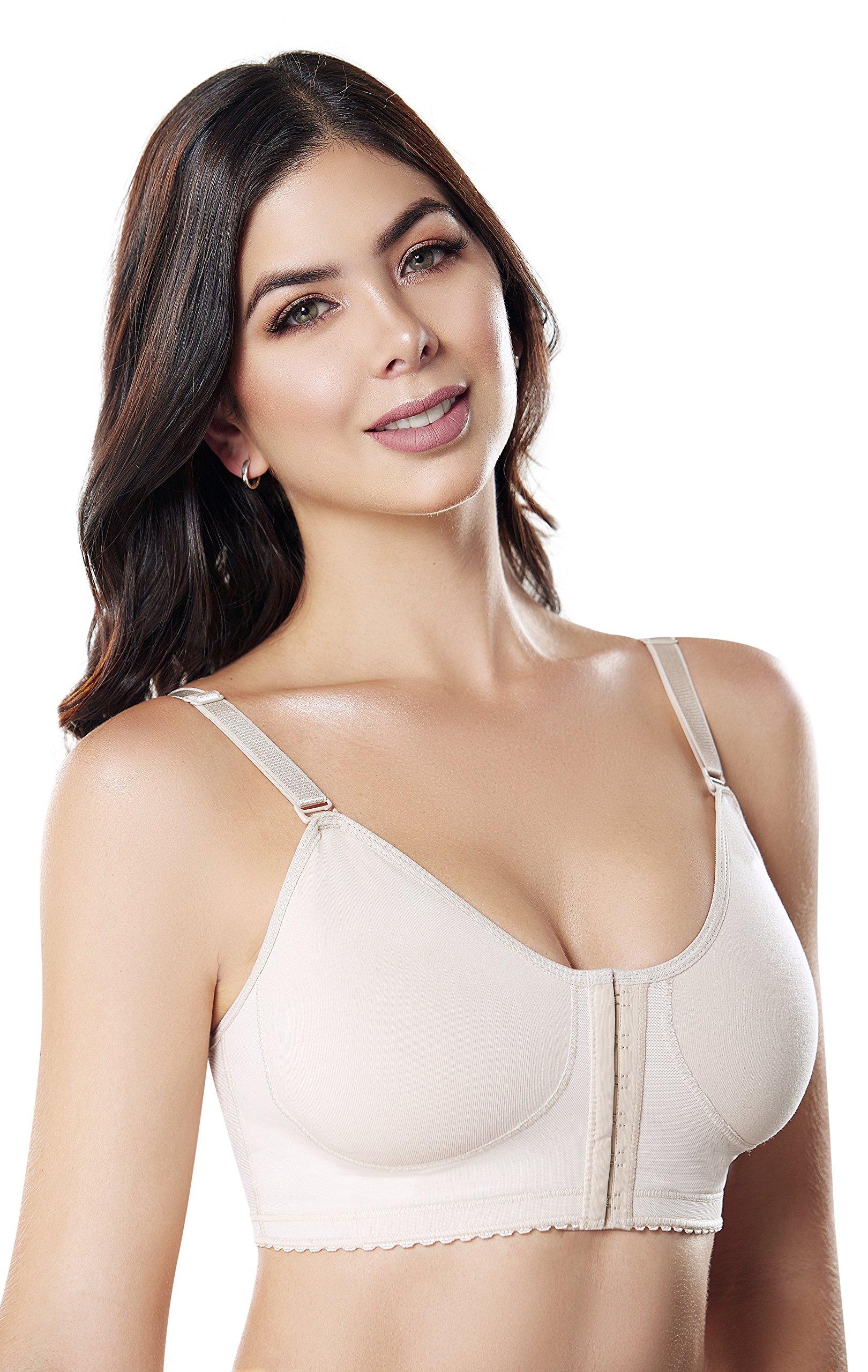 5da0d9620623a  Compression Bra Post Surgery Surgical Posture Bras for Women Brasier Post  Operatorio SCB001 (Beige