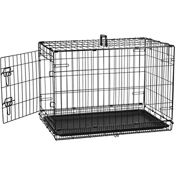 Amazon Com Dog Crate Midwest Icrate 36 Quot Folding Metal