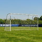 FORZA Alu60 Soccer Goals [10 Sizes] | Club Spec Premium Weatherproof Soccer Goal Posts | Soccer Practice Equipment | Soccer G