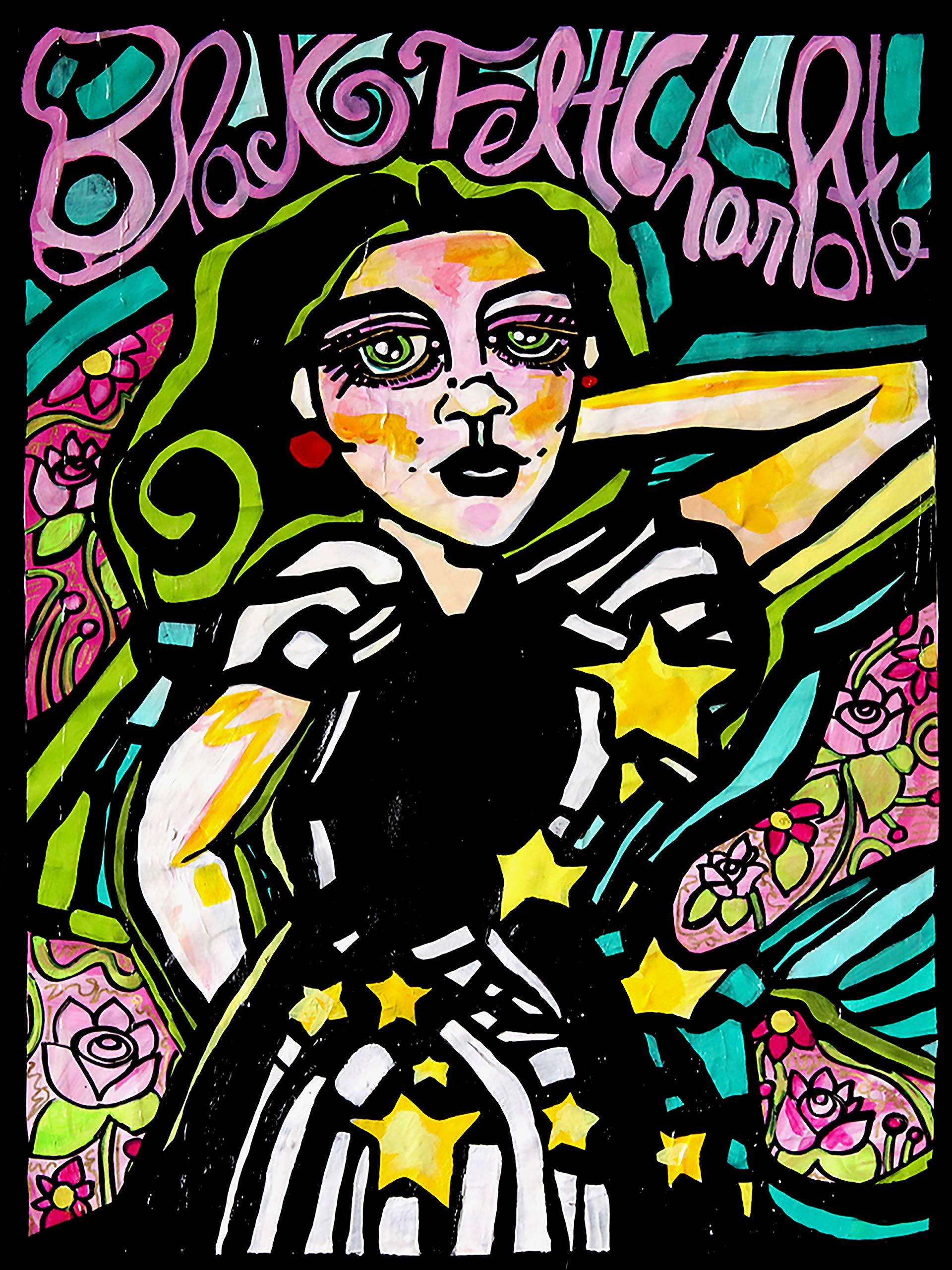 Black Felt Charlotte