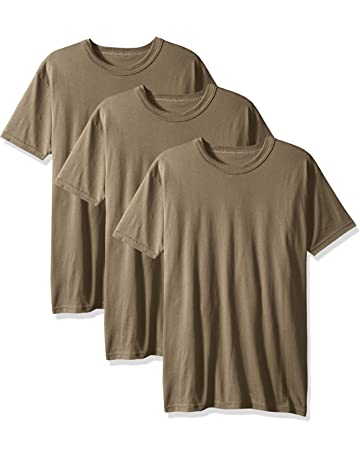 2c553c84c4bfe Soffe Men s 3-Pack Short Sleeve Crew Neck Military T-Shirt