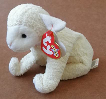 fd5fe1cdcc7 Image Unavailable. Image not available for. Color  TY Beanie Babies Fleecie  the Lamb Stuffed Animal ...
