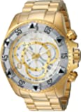 Invicta Men's 'Excursion' Quartz Two and Stainless Steel Casual Watch, Color:Gold-Toned (Model: 24264)