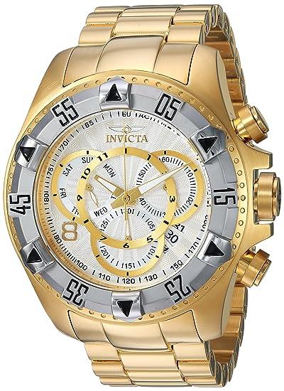 INVICTA Excursion Reloj DE Hombre Cuarzo Suizo Correa Y Caja DE Acero 24264: Amazon.es: Relojes