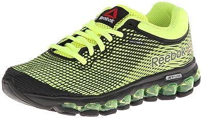 newest 9729f e5ec6 Reebok Zjet Running Shoe (Big Kid),Solar Yellow Black,3.5 M
