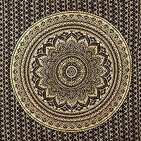 momomus Tapiz de Mandala - De Algodón - Decoración de Paredes para Hogar - Grande, Versátil y Decorativo - Adornos de…