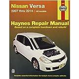Chilton Repair Manual for Nissan Versa 2007-2014