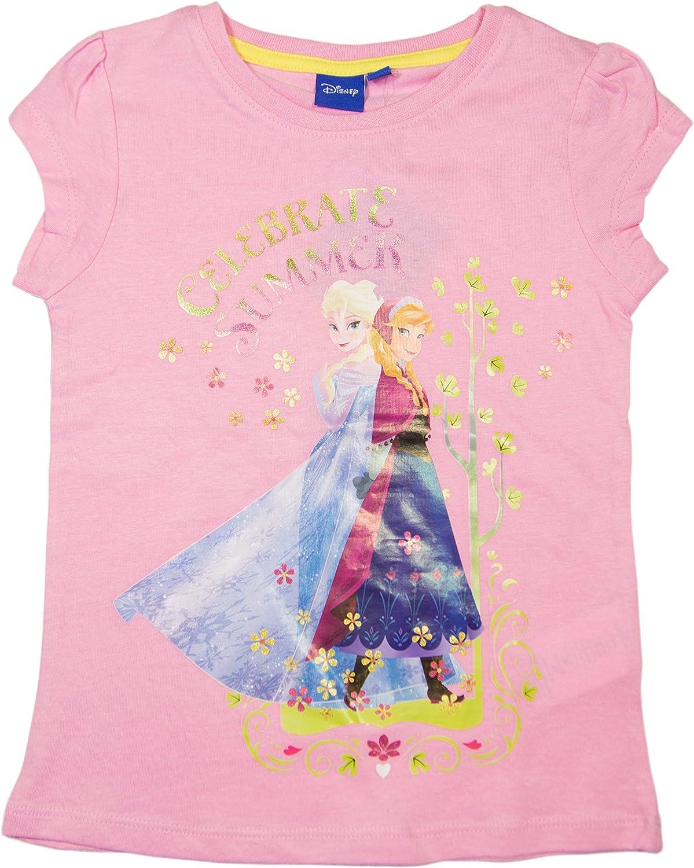 et/à 4//8 anni Maglietta ufficiale a maniche corte Frozen