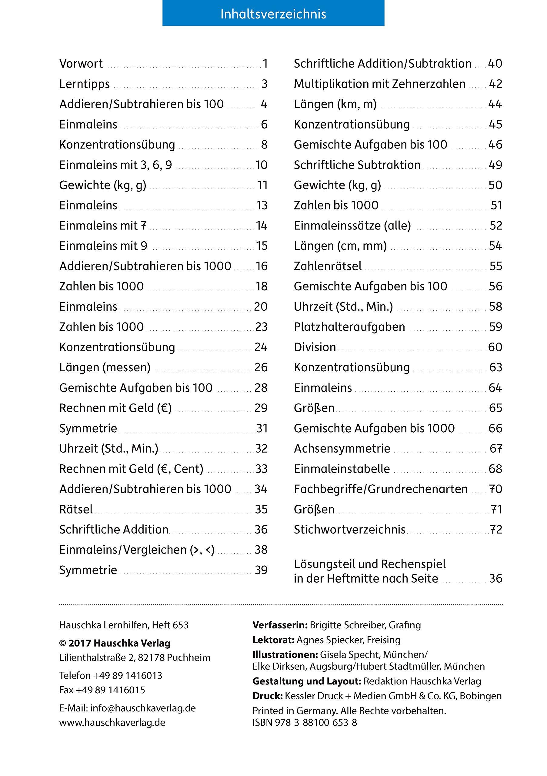 Amazing Frei Bedruckbare Mathematik Arbeitsblätter Für Die 3Klasse ...