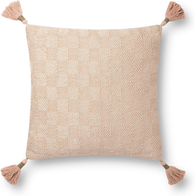 Loloi Decorative Pillow, Champagne