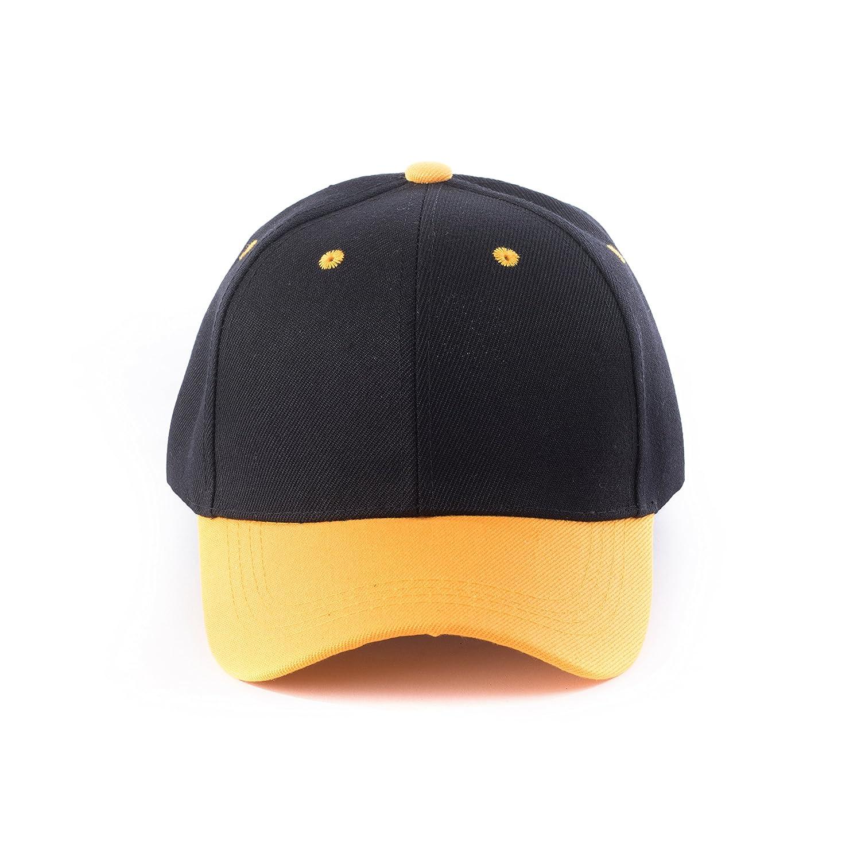 JNTOP HAT メンズ B074R9J2HB M|Black/Mustard Black/Mustard M