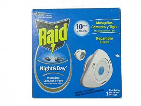Raid Night & Day Mosquitos Recambio - 1 Pack