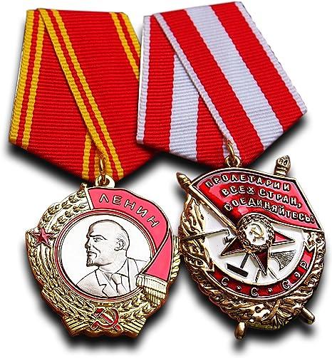 Soviet Russian Ribbon for Order of Lenin 1930 USSR CCCP