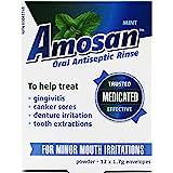 Amosan Oral Antiseptic Rinse - Mint