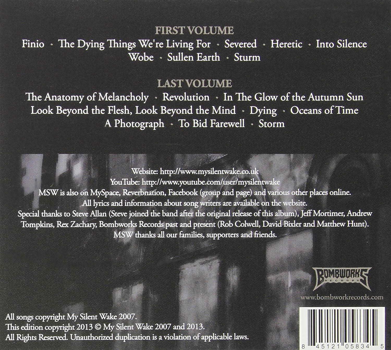 MY SILENT WAKE - The Anatomy Of Melancholy - Amazon.com Music
