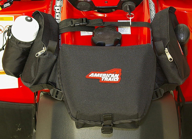 American Trails - ATV Saddle Bag Black - Tank Bag Front Accessories Storage Pack Luggage Bushwhacker 4333027738