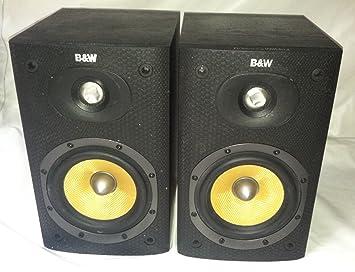 Amazon Com B W Bowers Wylkins Dm600 S3 Bookshelf Speakers
