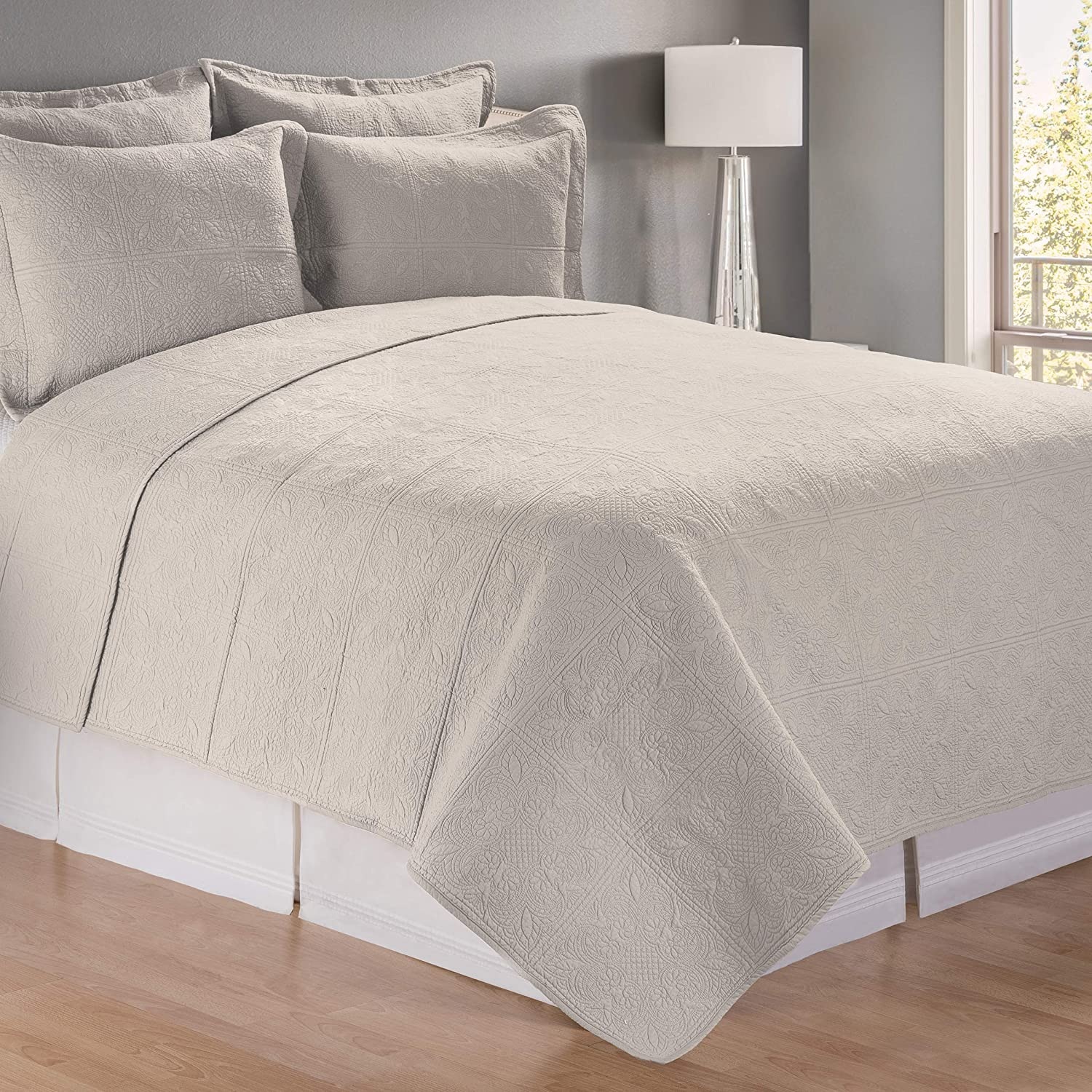 C&F Home King Apothecary Quilt Taupe King 100