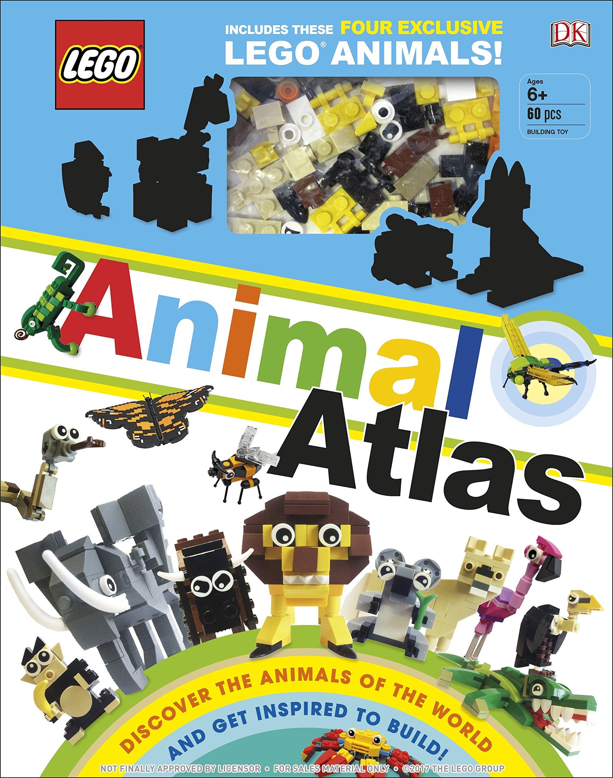 LEGO White Clam Animal Piece