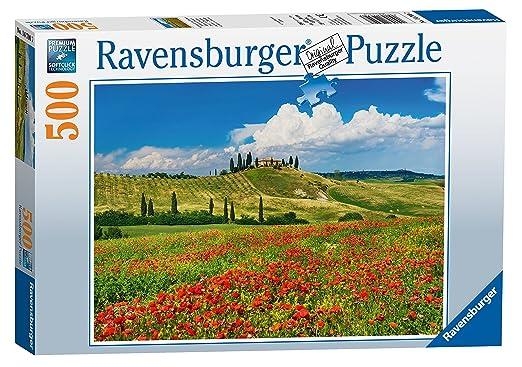 3 opinioni per Ravensburger Italy 147007- Puzzle Estate in Toscana, 500 Pezzi, Multicolore
