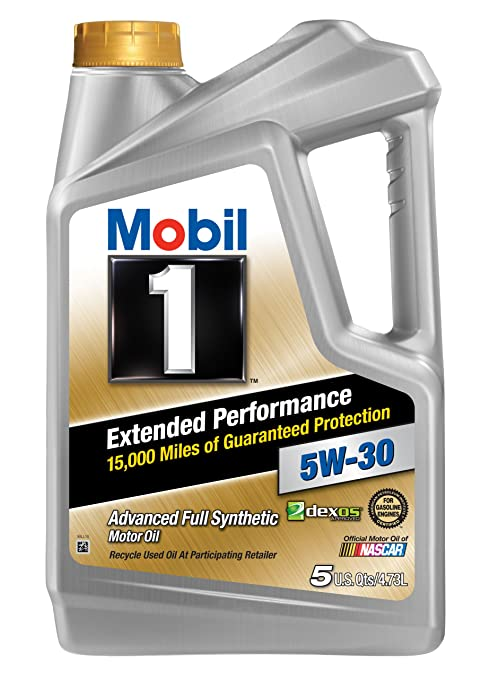 Mobil 1 (120766) Extended Performance 5W-30 Motor Oil - 5 Quart by