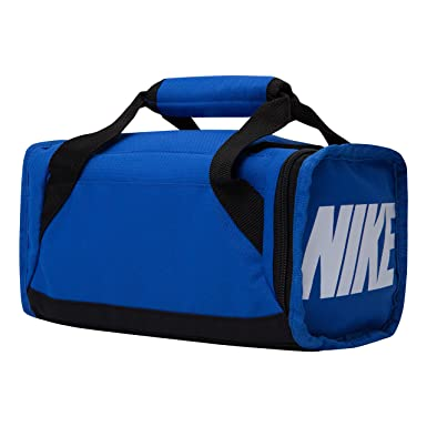 93204686e2 Amazon.com  Nike Deluxe Insulated Gym Game Royal Black Tote Lunch Bag  Toys    Games