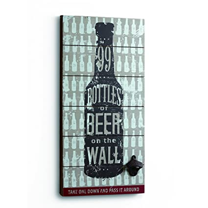 Amazon DEMDACO Seasons 99 Bottles Of Beer Wall Art Silver
