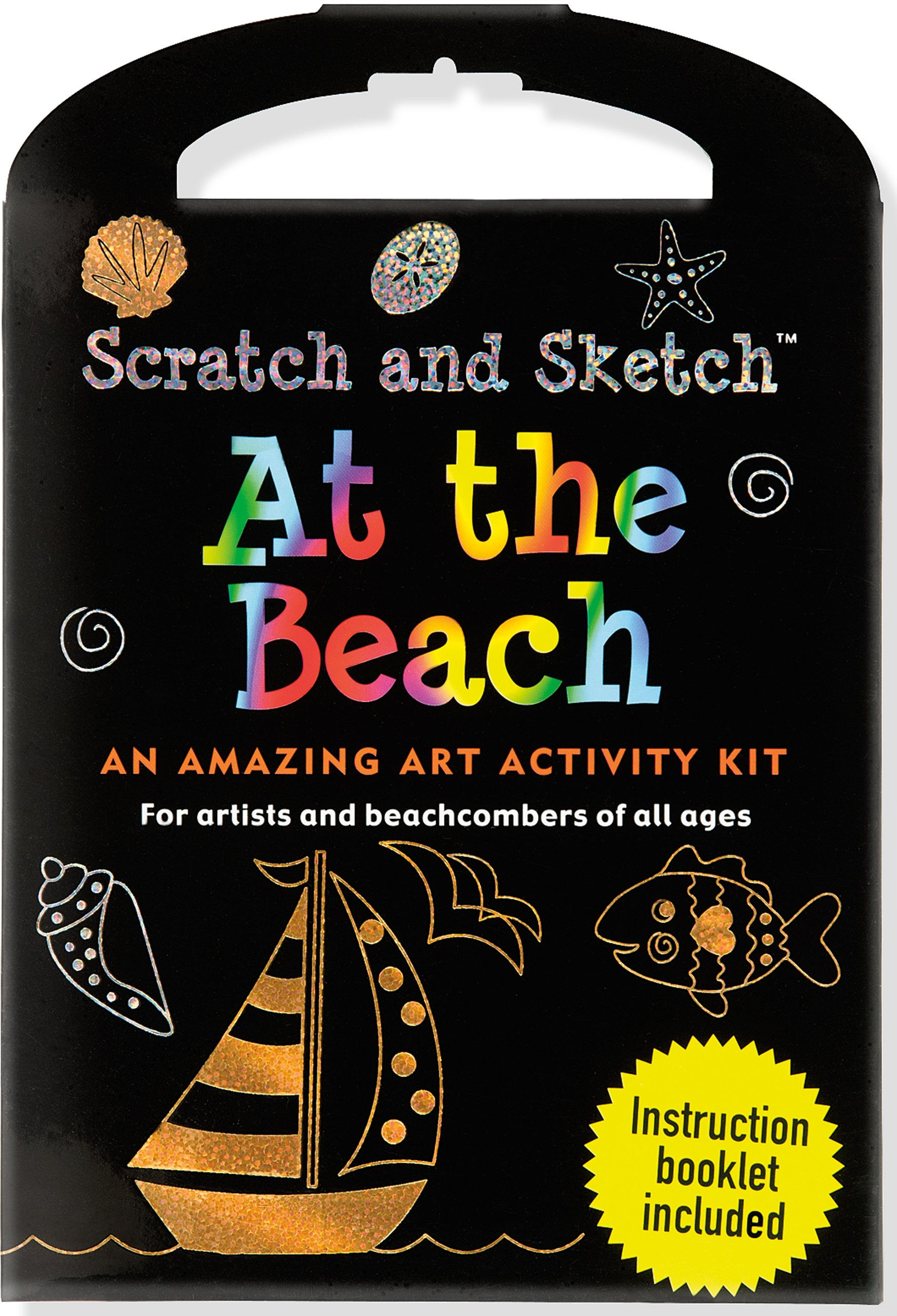 At The Beach Scratch & Sketch Kit (Scratch and Sketch Kit)
