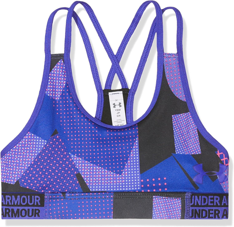 Under Armour Girls HeatGear Novelty Sport Bra