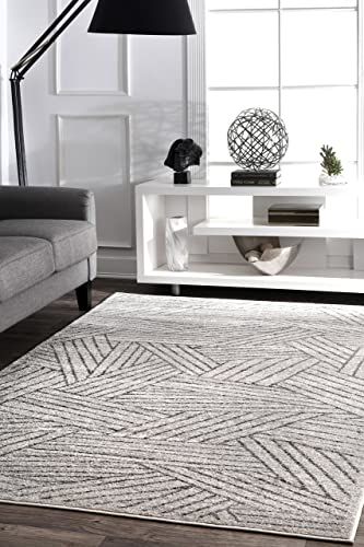 nuLOOM Louisa Striped Area Rug