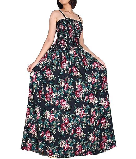 Amazon.com: Mujer Extra Largo Verano Maxi Plus tamaño ...