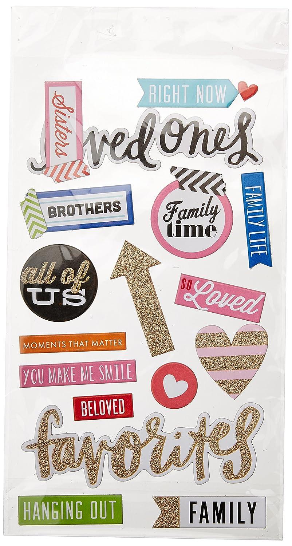 Unbekannt Me /& My Big Ideas Spanplatte Wert Pack-i Love My Family