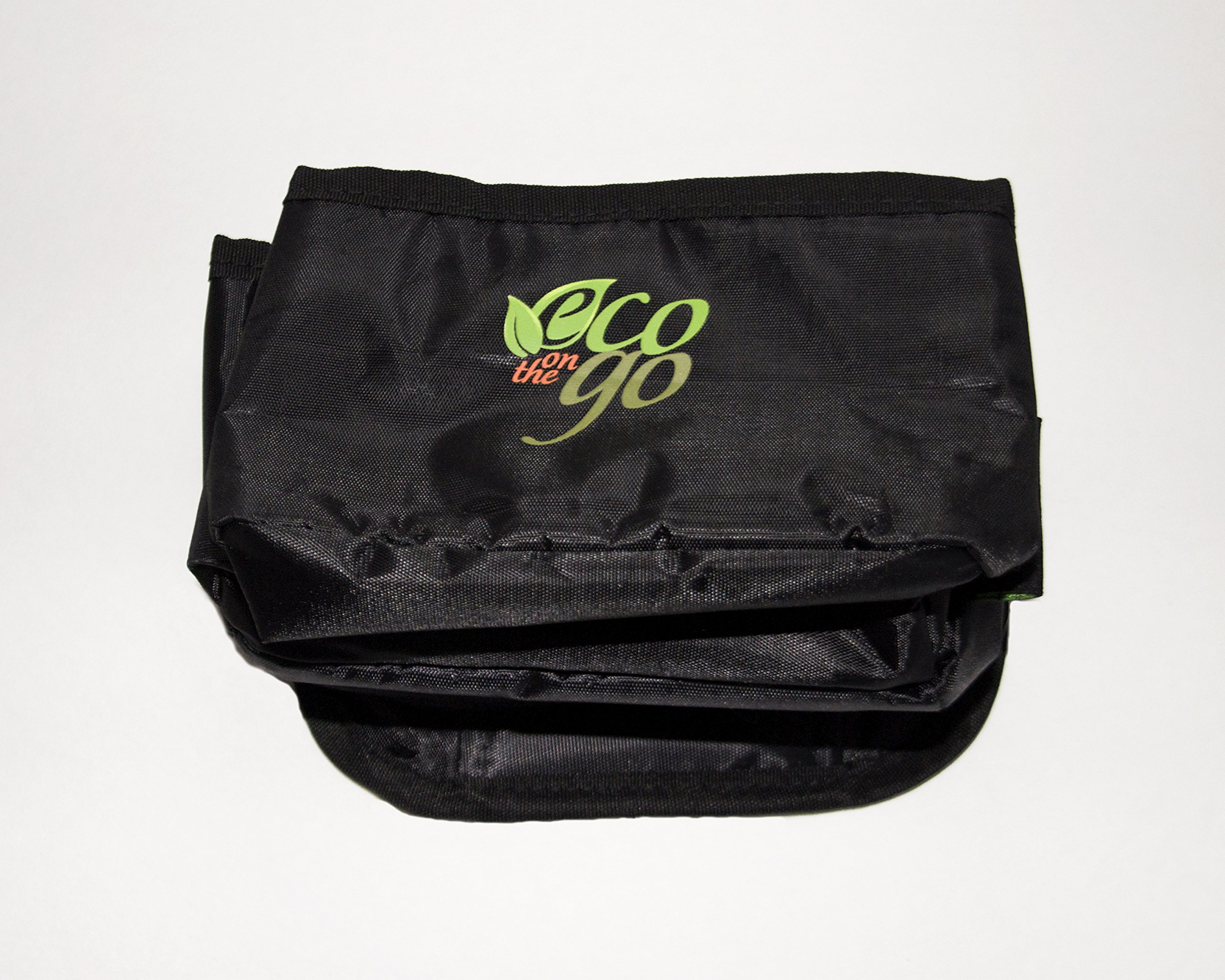 Eco on the Go Reusable Insulated Drink Tote Bag - NO MORE SPILLS!