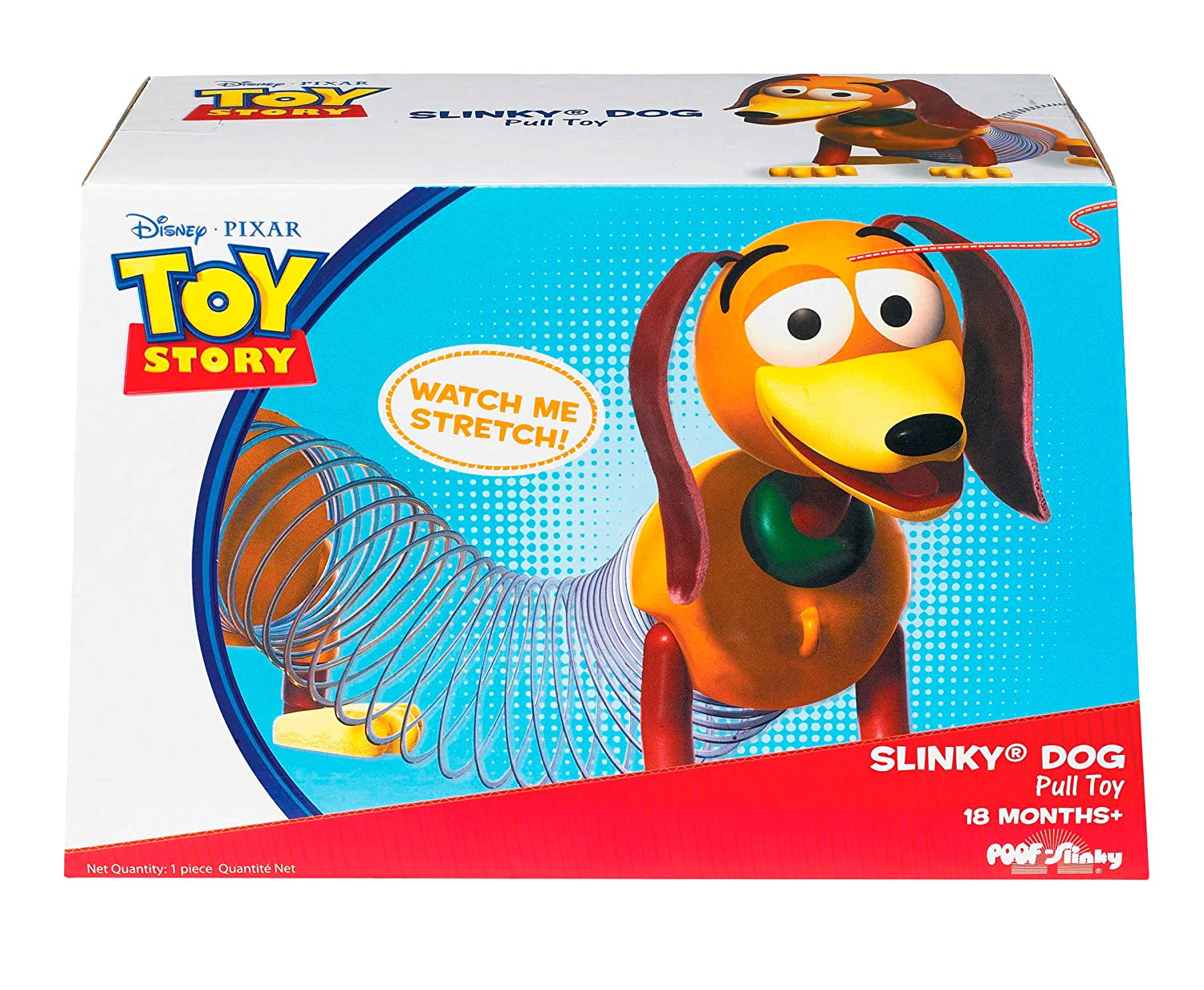 Amazon.com: Disney Pixar Toy Story Slinky Dog: Toys & Games
