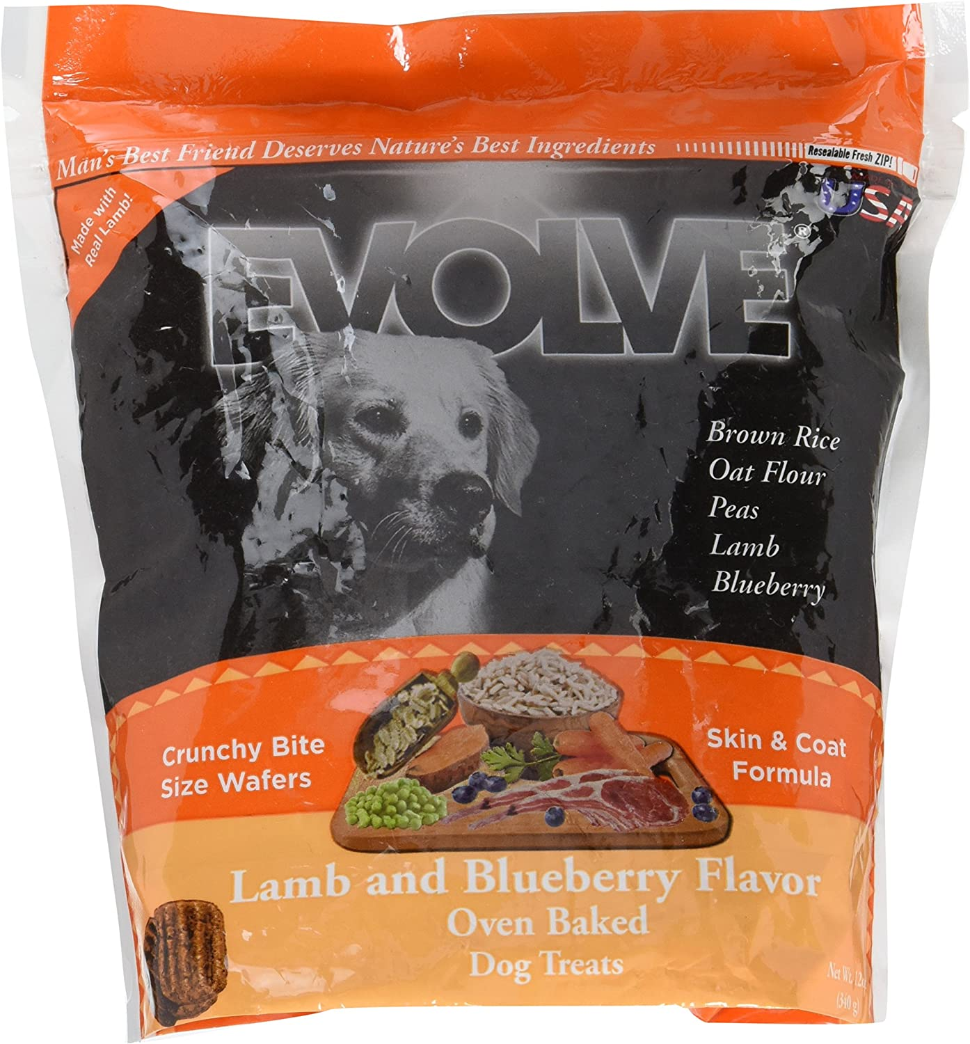 Evolve Oven Baked Grain Free Biscuits for Dogs