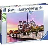 """Ravensburger - 163458 - Puzzle """"Pittoresque Notre-Dame"""" 1500 Pièces"""