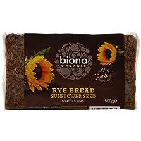 Biona Organic Rye Sunflower Seed Bread 500g (Pack of 6)