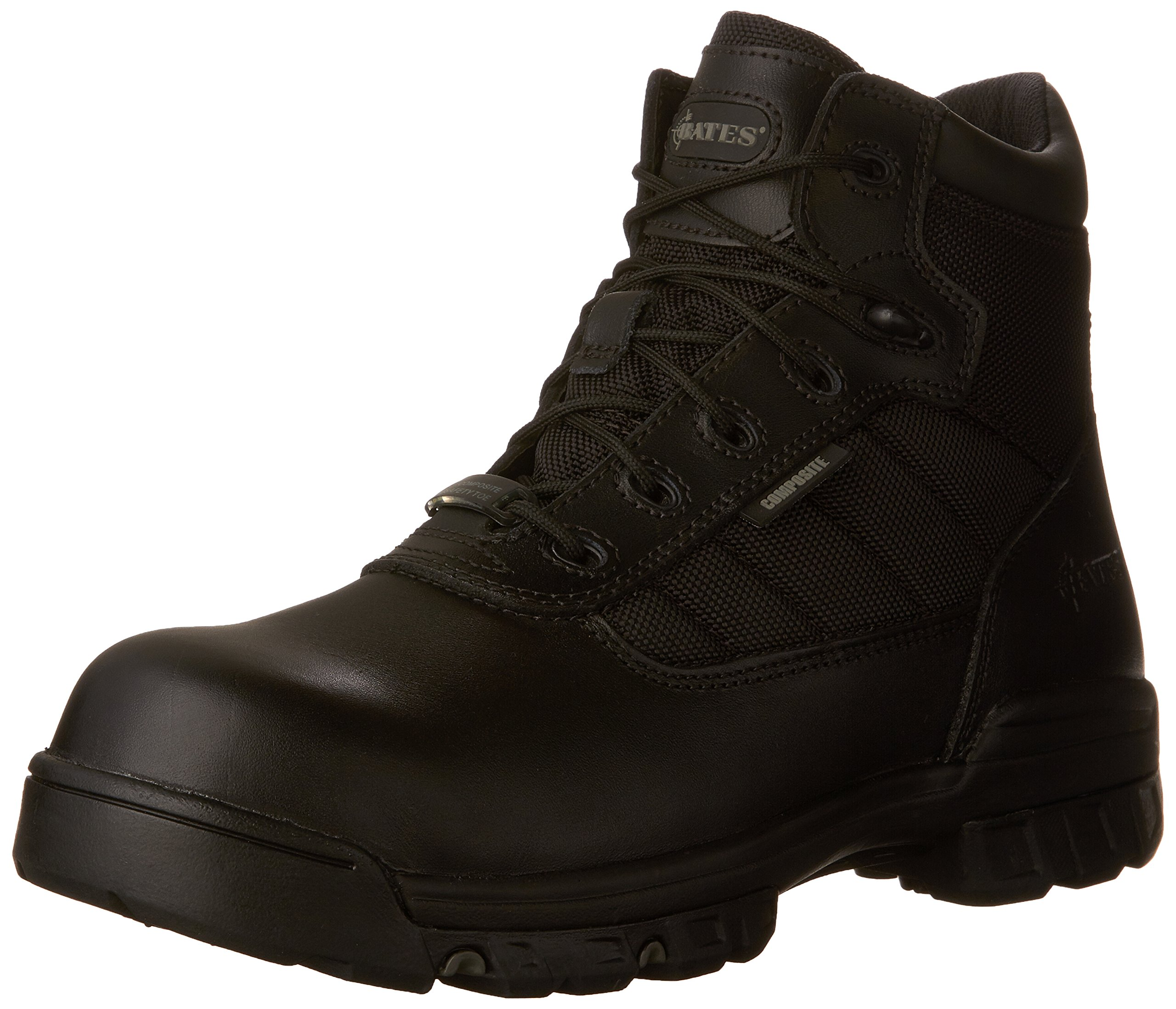 Bates Men's Enforcer 5 Inch SZ Leather Nylon SEMC Uniform Work Boot, Black, 10.5 M US by Bates