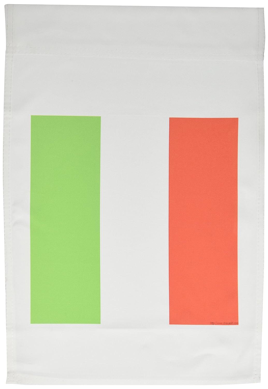 3Dローズ 旗 - イタリア国旗 - 旗 - ガーデンフラッグ 30.5 x 45.7cm (12 x 18インチ) - fl_4561_1 (並行輸入) B00BR48OCO