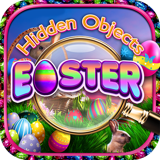 Hidden Objects - Easter & Object Time Puzzle