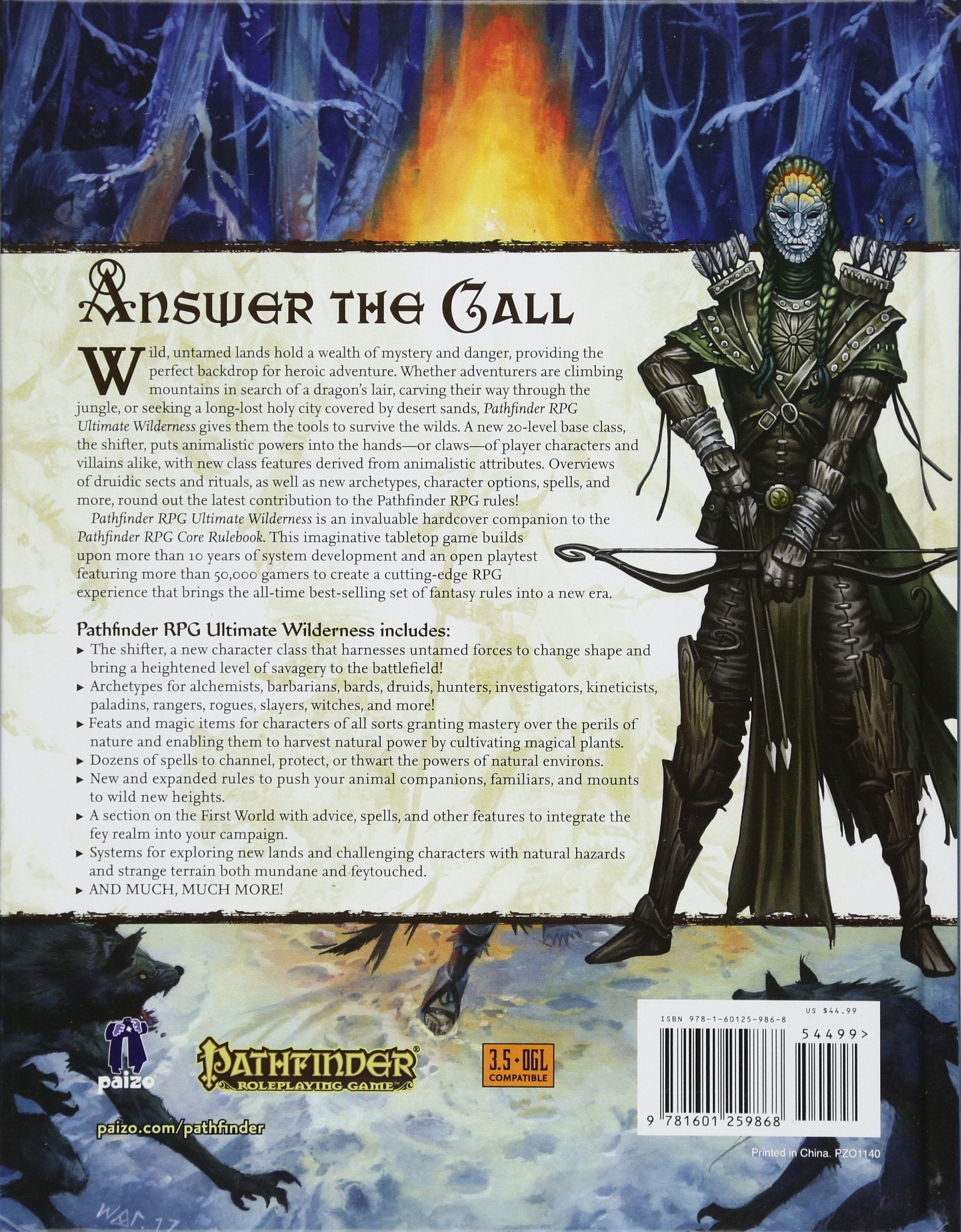 Pathfinder Roleplaying Game: Ultimate Wilderness: Paizo Staff