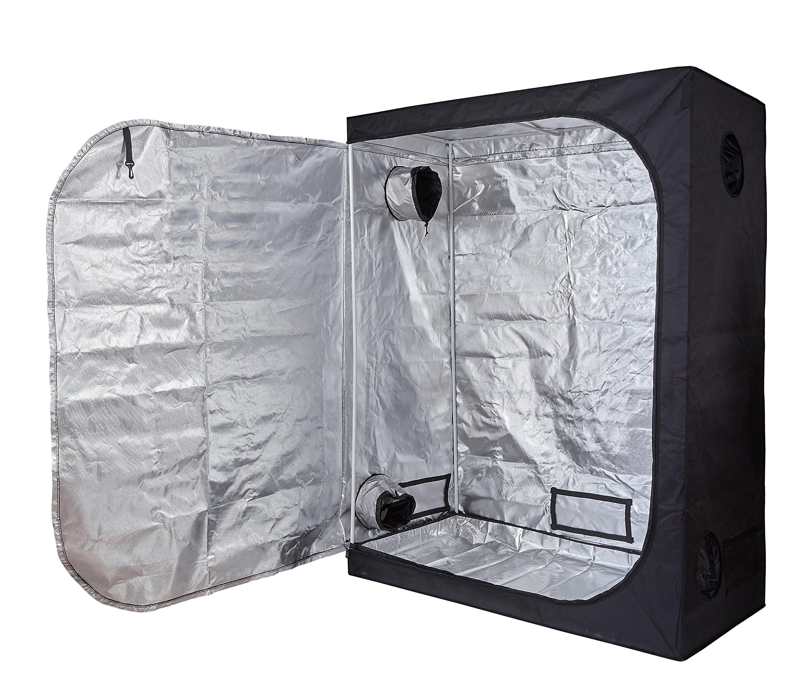Hongruilite 60''X32''X80'' Hydroponic Indoor Grow Tent Room w/Plastic Corner (60''x32''x80'')