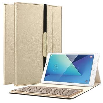 Samsung Galaxy Tab A 10.1 Tastatur Hülle, Boriyuan: Amazon.de ...