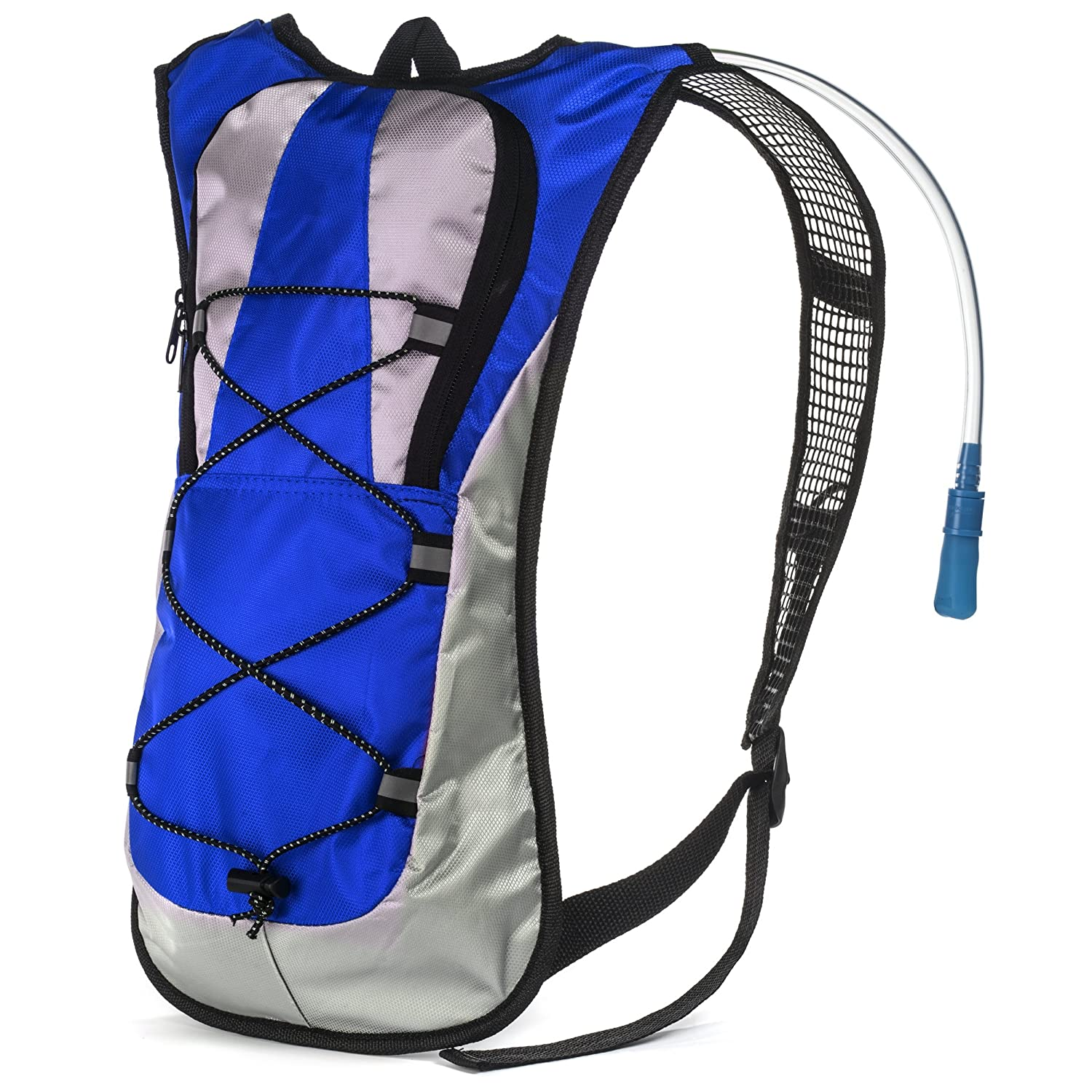 Hydration Pack with 1.5 L Water Backpack Bladder. Adjustable Straps Fits Men, Women or Kids. Ideal for Running, Cycling, Bike hiking, Climbing or Hunting. Lightweight 70 Oz and Waterproof Means You ll Never Run Out of Water When You Need It Most.