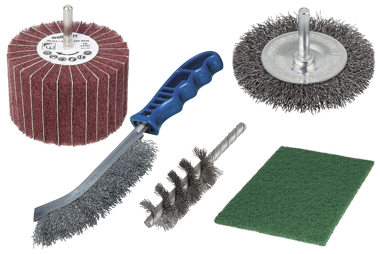 Wolfcraft 5641000 Set de tratamiento de metales